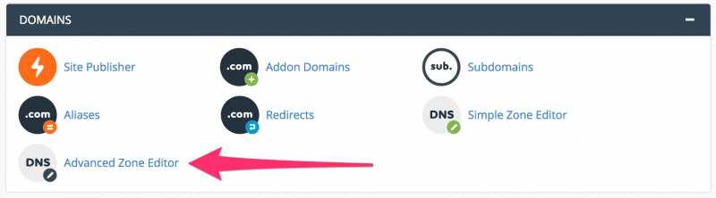 cpanel quản lý hosting domain