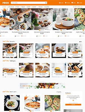 Giao diện website cửa hàng