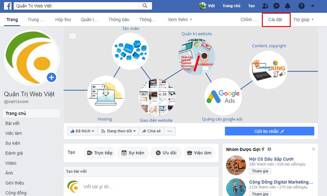 Hướng dẫn tích hợp Chat Facebook vào website