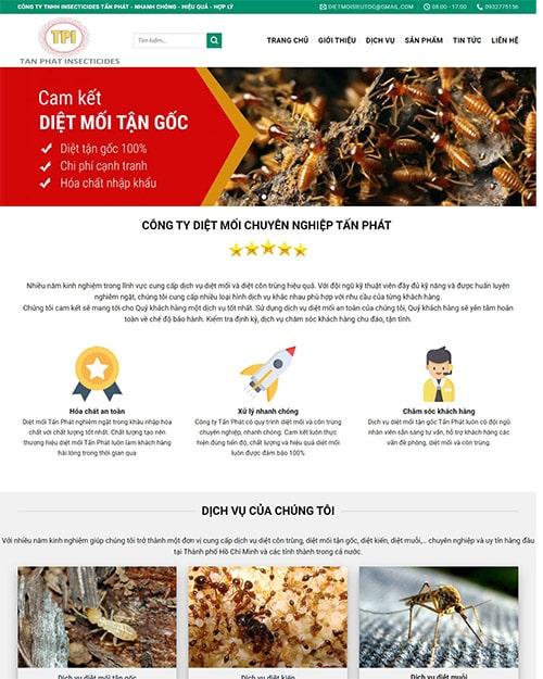 giao diện diệt côn trùng