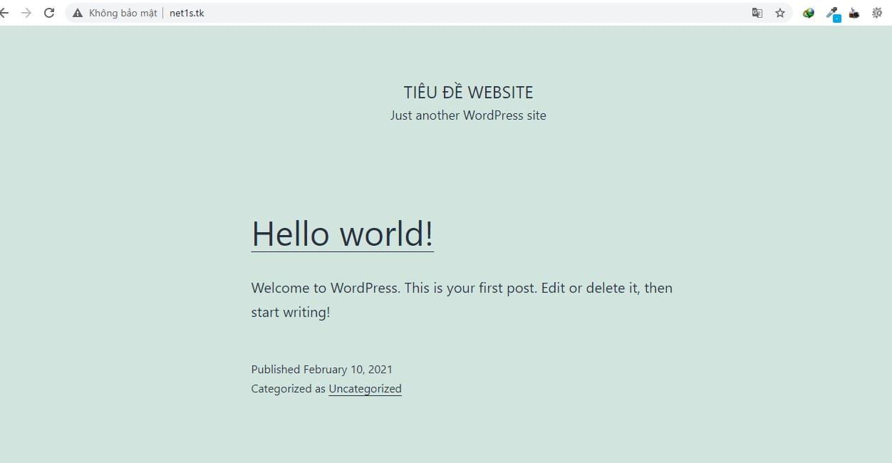 Hướng dẫn cài đặt website wordpress chi tiết nhất
