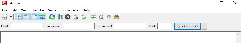 Nhập thông tin đăng nhập FTP của bạn