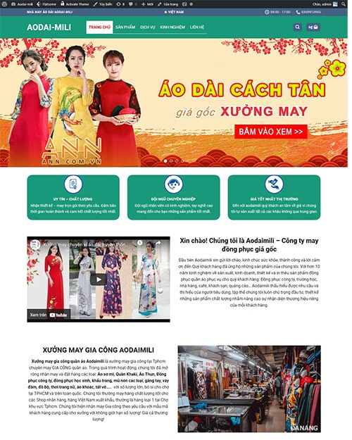 Giao diện may mặc