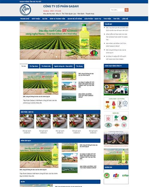 giao diện nông nghiệp
